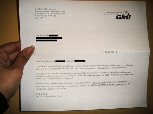 globaltestmarket letter, payment, proof, scam,