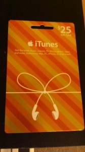 cheap discounted itunes giftcard