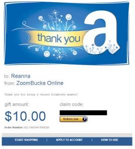 Free amazon gift card, zoombucks, sites like swagbucks,