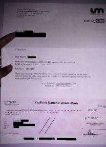 logical media payment proof, affiliate marketing