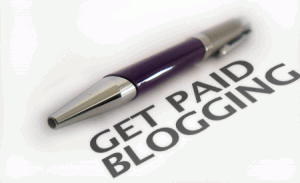 make money blogging, get paid to blog, make money with a blog