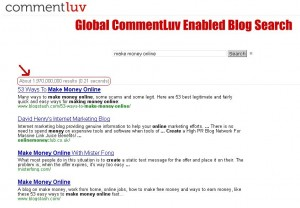 commentluv blog search, seo tools, backlink tools,