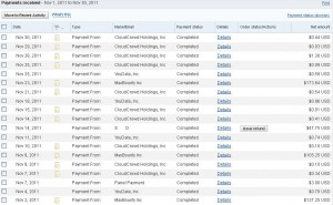 paypal proof of payments, get paid via paypal,