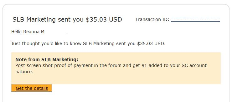 squishycash payment proof